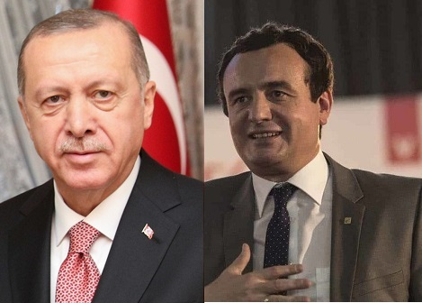 Kryeministri Kurti falënderon Presidentin Erdogan