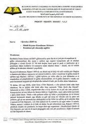 BFI paralajmëron Qeverinë: Nuk e pezullojmë faljen e namazit të Bajramit! (Dokument)
